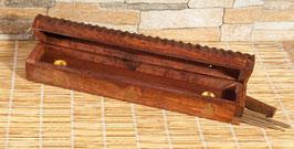 Buddha - Holzhalter mit Vorratsbox