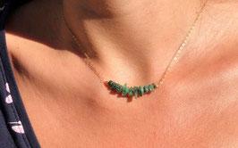 Smaragdkette - Geburtsstein Mai