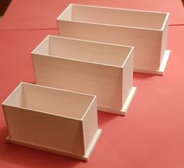 Cajas para moldes silicona RTV