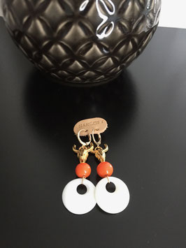 Boucles d'oreilles BUFFALO ORANGE
