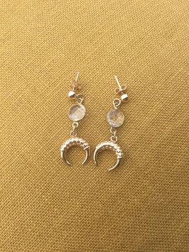 Boucles d'oreilles TIGRA Crystal