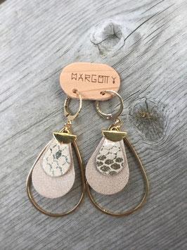 Boucles d'oreilles MARO Dorée