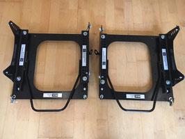 Sitzkonsole Fahrer/Beifahrer e30 inkl. Laufschienen und L Adapter,mit Befestigungsschrauben,  Motorsportteile