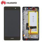 Service remplacement Ecran complet Huawei P8 Lite Service Pack (Ecran,Batterie,Chassis)
