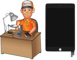 Service réparation vitre tactile + écran LCD Complet iPad Mini 4