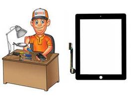 Service remplacement vitre Tactile iPad 4