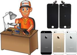 Remise à neuf - Service réparation écran complet + coque arrière complète iPhone 5S