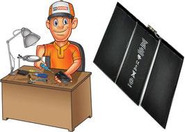 Service réparation batterie iPad 2 + vitre tactile