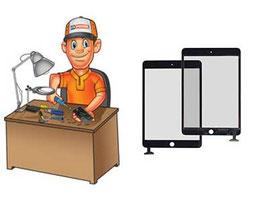 Service remplacement vitre Tactile iPad Mini 2