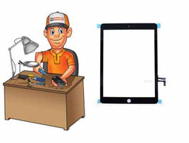 Service remplacement vitre Tactile iPad Air
