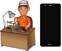 Service Réparation écran LCD + vitre tactile Huawei P10 Lite