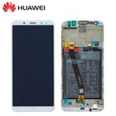 Service remplacement Ecran complet Huawei Mate 10 Lite Service Pack (Ecran,Batterie,Chassis)
