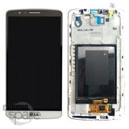 Service remplacement écran LCD + vitre tactile LG Optimus G3 D855