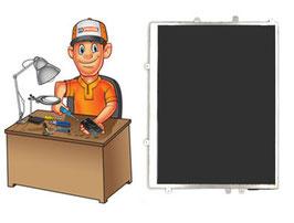 Service remplacement Vitre tactile + Écran LCD iPad 3