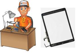 Service réparation vitre tactile iPad 2017