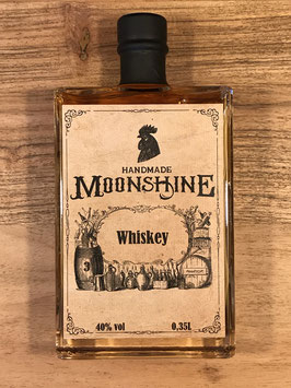 Moonshine Whiskey 40% vol - 2017-2020
