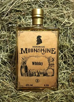 Whisky 43% vol - 2015-2018