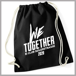 "Rucksackbeutel ""we,together"" 