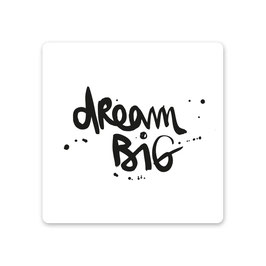 "2er Pack MDF Untersetzer ""dream big"""