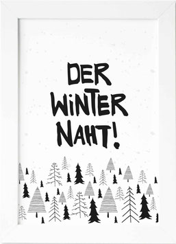 """Kunstdruck """"Der Winter Naht"""""""