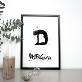 YOGA Print - Kamel / Ustrasana