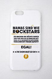 Handyhülle - Mamas sind wie Rockstars