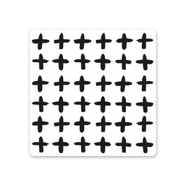 "2er Pack Untersetzer ""cross"""