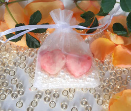 Badepralinen Erdbeerliebe