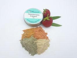 Gesichtsmaske Erdbeere - vegan - bei trockener und empfindlicher Haut