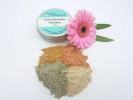 Gesichtsmaske Hibiskus - vegan - bei trockener, empfindlicher Haut