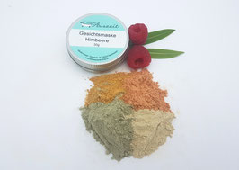 Gesichtsmaske Himbeere - vegan - bei trockener und empfindlicher Haut