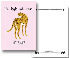 Leopard Date roze
