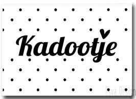 Sticker Kadootje