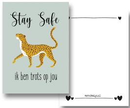 Leopard Stay save groen