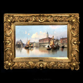 Dipinto firmato da Karl Kaufmann (1843 -1905)