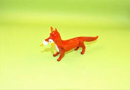 Fuchs mit Gans