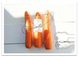 »The Carrots« - mit Umschlag