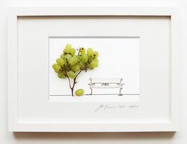 Limitierte Edition »Foodfantasien« • Handsigniert • Jedes Motiv mit einer Auflage von 100  • mit weiß oder schwarz lasiertem Holzrahmen mit Glasfront