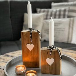 Kerzenständer Natur