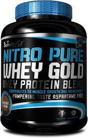 BioTech USA Nitro Pure Whey Gold - 2270g Dose