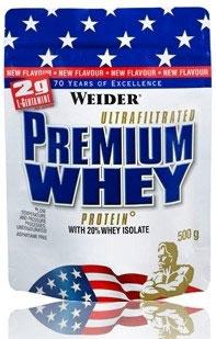 Weider Premium Whey - 500G BEUTEL