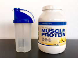 Fitnesshype Muscle Protein 750g Dose
