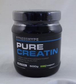Fitnesshype Premium Creatin Monohydrat Pulver