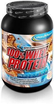 IronMaxx 100% Whey Protein - 900g Dose