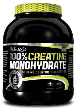BioTech USA 100 Creatine Monohydrate - 500g Dose