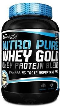 BioTech USA Nitro Pure Whey Gold - 908g Dose