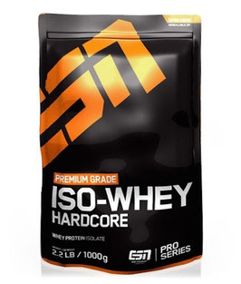 Esn Iso-Whey Hardcore - 1000g Beutel Chocolate