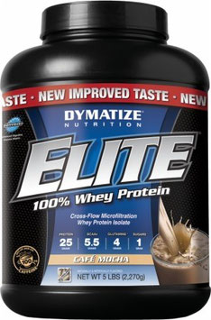 Dymatize Elite Whey - 2300g Dose Rich Chocolate