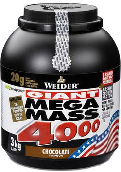 Weider Mega Mass - 3kg Dose