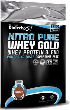 BioTech USA Nitro Pure Whey Gold - 454g Beutel